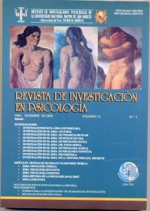Revista de Investigación en Psicología