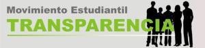 Movimiento estudiantil trasparencia