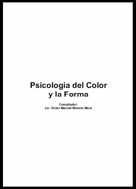 Psicologia del Color y la Forma   Pamehrv Blog